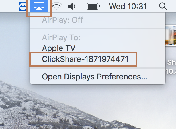 ClickShare CSE-200+ - Knowledge Base - How to use Airplay on