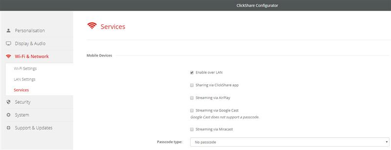 CSC Base Unit - Knowledge Base - I can't see my ClickShare Wi-Fi