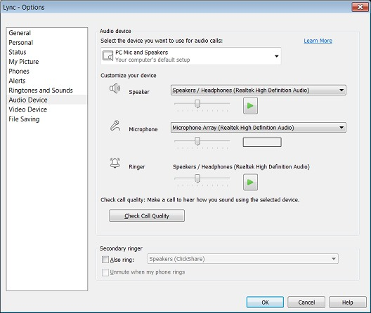 how to change csc setting to gsw