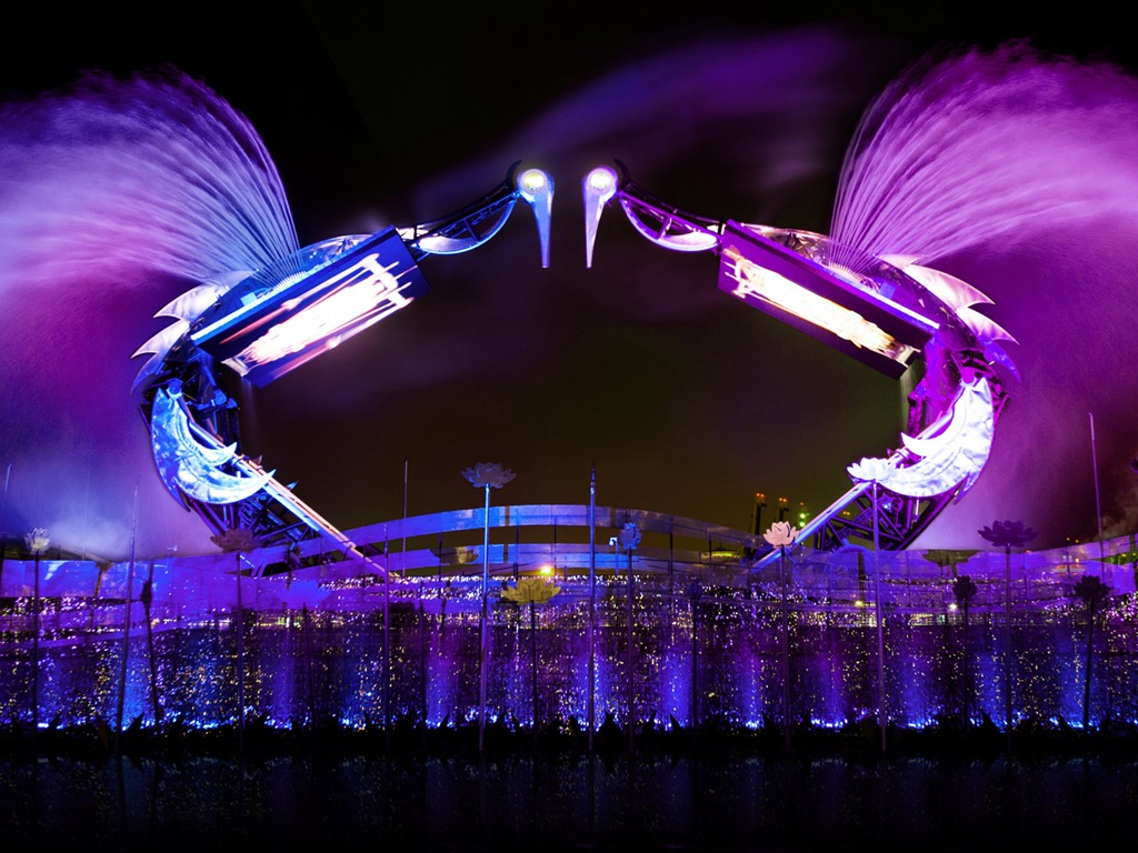 Overhead Crane Lights Led : Barco s creative led solution lights up world biggest animatronics show in singapore