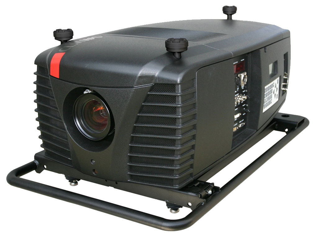 Barco adds compact dlp projector to its hd projector fleet for Hd projector