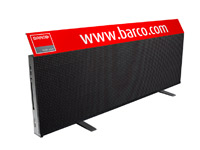 Barco SP-4816 - 16mm pixel pitch, 6,000 nits LED sports perimeter system