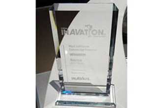 HDX three-chip DLP event projectors win InAVation Award