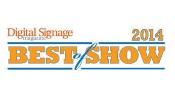 InfoComm best of Show logo