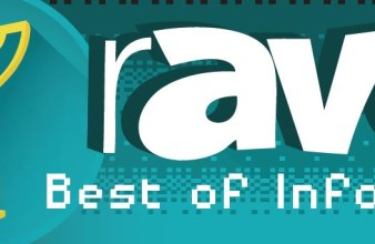 rAVe Pubs Best in Show InfoComm award logo