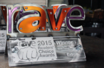 rAVe Readers' Choice Award