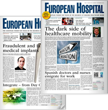 European Hospital Magazine about interactive patient care