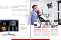 Barco's fully cleanable Eonis dental displays