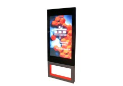 Digital signage LCD displays