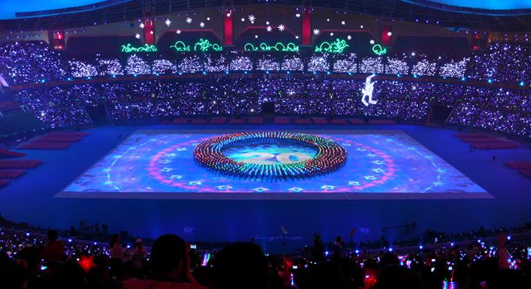 Asian Para Games opening ceremony