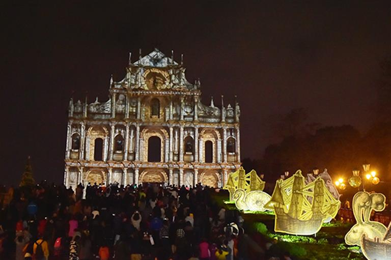 Macao Light Festival 2015