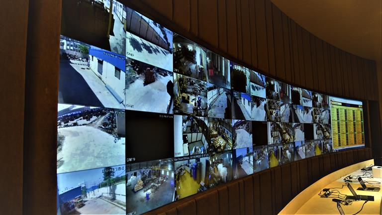 Views from 5,000 cameras on a single screen - Patanjali Ayurved Limited