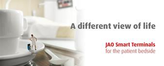 JAO Smart Terminals for the patient bedside