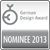 Nominee for the German Design Award 2013